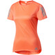 adidas Response Short Sleeve Tee Women easy orange